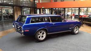 blue station wagon 1968 ford mustang station wagon kombi 4 sale youtube