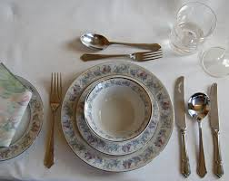 fine dining table setting diagram american hwy