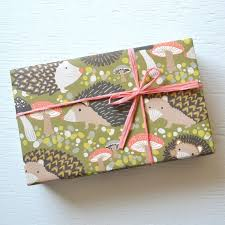 hedgehog wrapping paper hedgehog paper package cards gift wrap