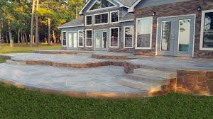 Pea Gravel Concrete Patio by Concrete Patio Archives Allied Outdoor Solutions