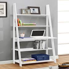 Oak Ladder Bookcase by Birlea Nordic White Oak Ladder Desk