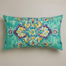 decorating beautiful outdoor lumbar pillows for patio accessories teal outdoor lumbar pillows with pretty pattern for patio accessories ideas