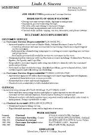 Customer Service Resume Sample Skills by Sample Customer Service Resume Classy Idea Customer Service