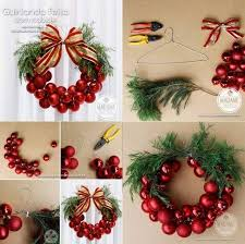 how to make wreath out of ornaments usefuldiy