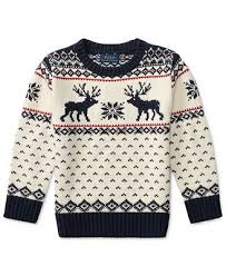 macy s ralph sweaters ralph reindeer sweater toddler boys 2t 5t sweaters