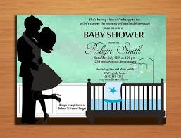 Couple S Shower Invitations Kissing Couple Baby Boy Baby Shower Invitation Cards