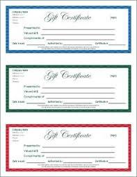 free printable gift certificates and tons more printable stuff