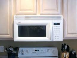 over range microwave no cabinet can i install an over the range microwave in a cabinet cabinet depth