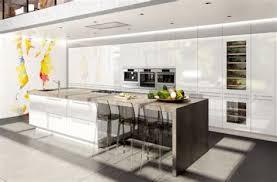 cuisine avec cuisine moderne bois massif 8 cuisine en u beige et marron