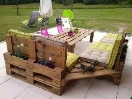 mobilier de canapé meubles en palettes le bois recyclable pour votre confort