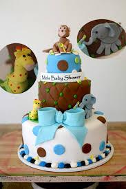 safari theme baby shower cake boy timelesstreasure cakes