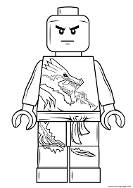 lego ninjago zane coloring pages printable
