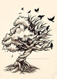 skull tree idea trendvee tattoos