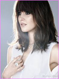 medium hairstyles with bangs for women who are overweight best 25 bangs medium hair ideas on pinterest shorter length