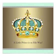 prince baby shower green prince baby shower baby shower invitations baby shower