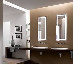 Lighted Vanity Mirrors For Bathroom Elongated Lighted Vanity Mirror Led Bathroom Mirror