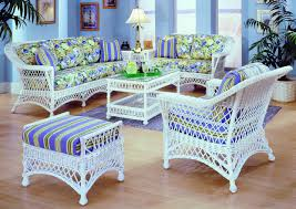 bar harbor white rattan sunroom furniture from spice island wicker