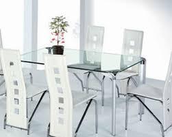 tavoli per sala da pranzo moderni sedie e tavolo da pranzo moderno in vetro sala da pranzo tavoli