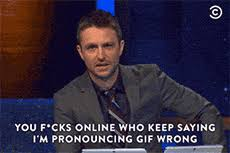 How Do I Pronounce Meme - gif vs jif pronunciation debate know your meme