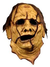 chainsaw leatherface 1974 killing mask