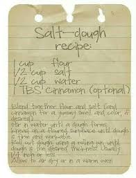 salt dough recipe for ornaments crafts projects