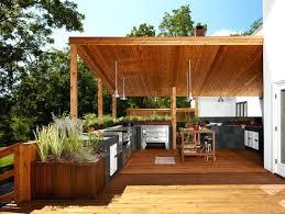 cuisine exterieure en abri cuisine exterieure amacnager une cuisine dactac couverte sur