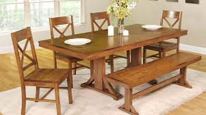 dining room dining room set with bench polite white bench seat
