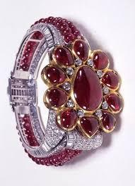 cartier london art deco diamond ruby bracelet 1937 by clive kandel