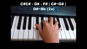ukulele keyboard tutorial tadhana piano tutorial chorus youtube