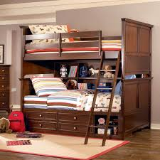 Sleigh Bunk Beds The Rich Cherry Finish On This Bunk Bed For A Boys Room