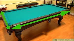 Championship Billiard Felt Colors Move How To Felt A Pool Table With Pictures Wikihow
