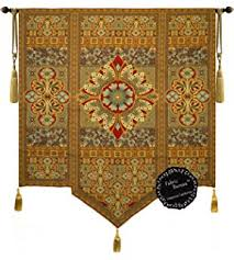 amazon com moroccan style jacquard woven art tapestry wall