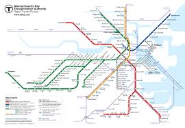 Street Map Of Boston by Boston Mbta Map Future No Bus Routes Cameron Booth