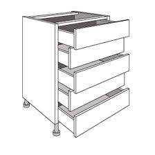 tiroirs de cuisine meuble de cuisine bas avec 5 tiroirs origine cuisine