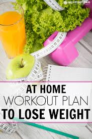 at home workout plan to lose weight hard hitting fitness