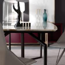 Esszimmertisch Mit Marmorplatte Tolomeo Rechteckiger Tisch Aus Marmor Arredaclick