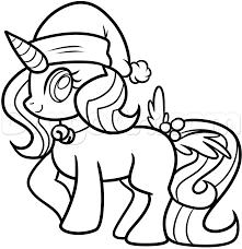 drawn unicorn line drawing pencil and in color drawn unicorn