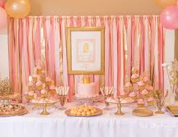 pink and gold party supplies princess birthday kate s pink and gold princess party