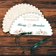sle of wedding program fan shaped wedding program templates wedding invitation ideas