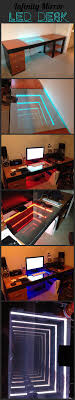 Diy Led Desk L Diy Computer Desk Ideas Space Saving Awesome Picture Infinity