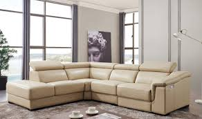 Beige Sectional Sofas Fabric Sectional Sofas With Chaise Modern Reclining Sectional