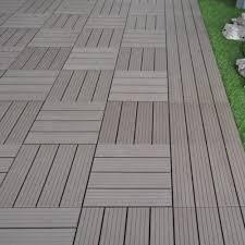 piastrelle x esterni pavimento piastrelle bamboo wpc per esterni 30x30 cm
