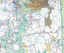 Utah On A Map by Utah Aaroads Interstate 70