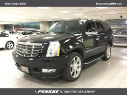 cadillac escalade per gallon used cadillac escalade at motorwerks bmw serving minneapolis st