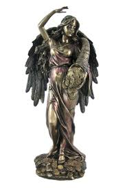 Greek God Statues by Amazon Com Bronze Fortuna Roman Goddess Of Fortune Statue Tykhe