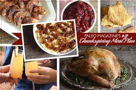 paleo magazine s 2014 aip thanksgiving meal plan