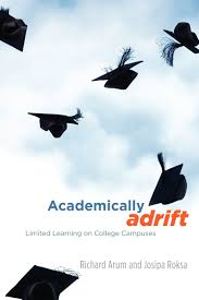 academically adrift limited learning on college campuses amazon
