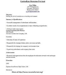 Firefighter Resume Janitor Resume Sample Template Learnhowtoloseweight Net