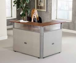 fabulous small reception desk home desk design ideas office