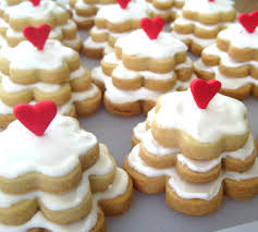 bubble and sweet wedding cake sugar cookies and a handmade